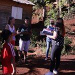 La Defensora del Pueblo recorrió el asentamiento del barrio Oberá 1 que pertenece al Iprodha
