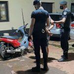 Recuperaron tres motos robadas y detuvieron a cuatro jóvenes