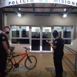Se recuperó una bicicleta robada anoche en el barrio San José de Oberá