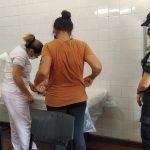 Policías resguardaron a una niña hallada en la vía pública