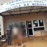 La policía recuperó elementos robados y demoró a los presuntos autores
