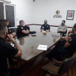 Reunión de coordinación entre Policías e integrantes de la Municipalidad de Oberá