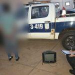 La Policía recuperó un televisor robado en Villa Cristen