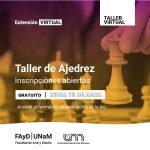 Taller de Ajedrez en la Facultad de Arte y Diseño
