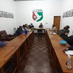 Reunión con presidentes de clubes en la Liga Obereña