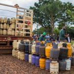 """Más de 800 garrafas vendidas en Oberá con el programa provincial """"Ahora Gas"""""""