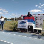 Atletismo adaptado: Mahira y Leonel campeones nacionales