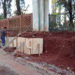 Avanzan las obras en la Picada Sarmiento
