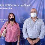Presentaron los nuevos asesores Contable y jurídico del Concejo Deliberante Obereño
