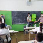 """Con el programa municipal """"Oberá Sustentable"""" concientizan a alumnos de nivel primario"""