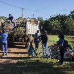 Operativos de limpiezas en barrios de la ciudad