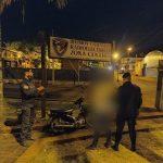 La policía recuperó una motocicleta robada  y demoró a un jovencito