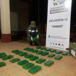 Gendarmería Nacional incautó droga y cigarrillos