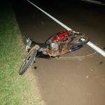 Despiste de una motocicleta dejó dos lesionados en San Martín