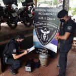 Recuperaron elementos robados de una vivienda sobre la calle Laguna Iberá