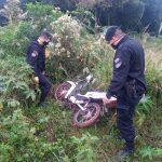 Recuperaron una motocicleta robada en el barrio Yerbal Viejo