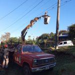 Personal de Redes Urbanas y Rurales realiza trabajos varios en Oberá y localidades vecinas