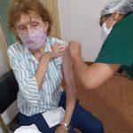 Sputnik V:  se comenzó a vacunar la segunda dosis en el vacunatorio de Zona Centro Uruguay