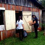 Cruzada Solidaria: Asistieron con mercaderías y ropas a una abuela y a su nieta en Oberá