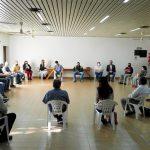Buen dialogo entre vecinos del barrio Guadalupe, Celo, Ifai  y municipalidad