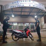 La Policía recuperó una motocicleta robada en el barrio San Miguel