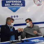 """El Sublema """"Para Adelante"""" presentó a Rossberg y Ullón como candidatos a Defensor del Pueblo"""