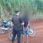 Detuvieron a un joven acusado de sustraer una motocicleta