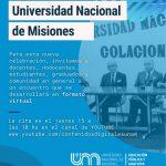 Celebración virtual por los 48 años de la UNaM