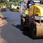 Avanza el asfaltado sobre empedrado en Oberá