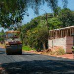 Vialidad de Misiones asfalta 39 cuadras más en Oberá