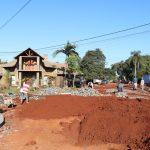 Avanzan obras de infraestructura en Oberá