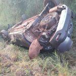 Una joven despistó con su vehículo en Villa Bonita