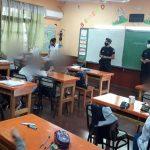 Policías visitaron la Escuela Primaria de Villa Barreyro