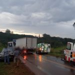 Múltiple choque en Campo Ramón dejó cuatro lesionados