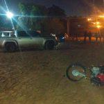 Colisión entre una motocicleta y una camioneta en Guaraní dejó como saldo un adolescente lesionado