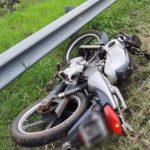 Un motociclista perdió la vida tras  despistar en la Ruta Costera 2