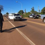 Un joven resultó lesionado al ser embestido por un vehículo en Oberá