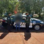 Sorprendieron con marihuana a un joven que estaba prófugo y fue detenido