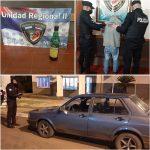 Conducía en estado de ebriedad y terminó preso en Panambí