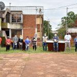 Instalación de contenedores en barrio Yerbal Viejo