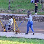 Tenencia responsable de mascotas en el Parque de las Naciones