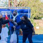 Entregaron material deportivo al Club Vecinal Tierra del Fuego