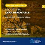 Inscripción al programa Leña Renovable