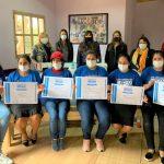 Se graduaron mujeres integrantes de la asociación tareferas reivindicadas en curso de Moldería Básica
