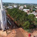 Polémica en Oberá por la tala de árboles en la plazoleta Güemes