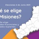 Elecciones en Misiones: Lista de candidatos a Diputados Provinciales