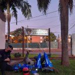 Recuperaron una motocicleta robada en Oberá: Estaba desarmada en un malezal