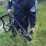 Recuperaron una motocicleta robada y partes de otra en un desarmadero: hay dos detenidos