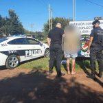 Detuvieron a un joven que atemorizaba a vecinos con un machete