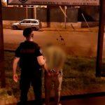 Detuvieron a un joven por agredir y provocar desorden en el domicilio de su madre